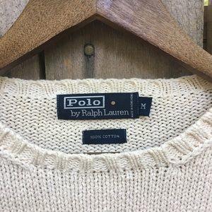 Polo by Ralph Lauren Cotton Crewneck Sweater sz M